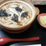 『鎌田さんが作ってくれた鍋焼きうどん~♪美味しかった~♪♪』