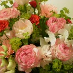 『たっぷりのお花のギフト♪ありがとうございます!』