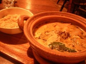 『土鍋でスープカレー』