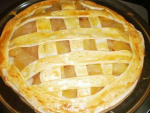 『叔父へのプレゼント♪アップルパイを焼きました!』