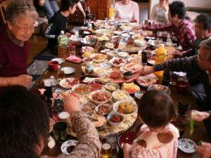 『祖母宅での新年会♪』