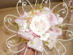 『婚約のお祝いのプチブーケ♪』
