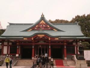 『永田町にある日枝神社』