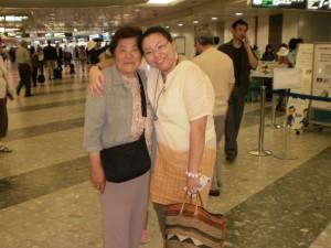 『静岡の祖母としばしの別れ』